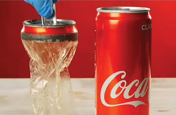 The Real Secret of Coke - Single Use Plastic