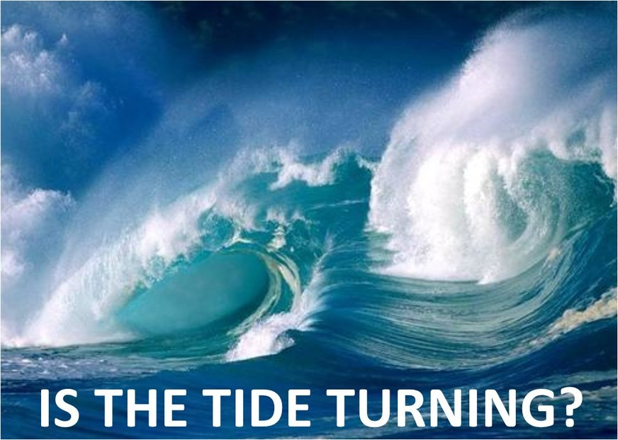Image result for Turning the tide