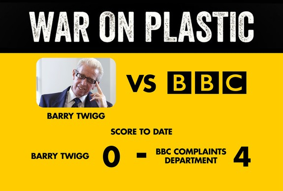 War on Plastic Barry Twigg vs BBC